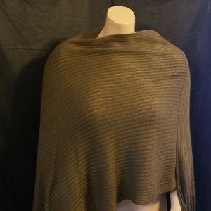 Sweaters - Brown poncho ONE SIZE